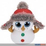"""Beanie Boo's - Schneemann """"Buttons"""" limitiert - 15 cm"""