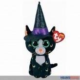 "Beanie Boo - Katze ""Pandora"" m. Hut ""Halloween"" - 15 cm"