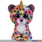 "Glubschi's/Beanie Boo's - Leopard ""Giselle"" mit Horn - 15 cm"