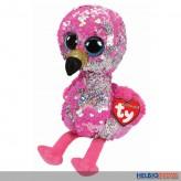 "Ty Flippables - Flamingo ""Pinky"" - 24 cm"