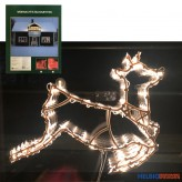 "Weihnachts-Beleuchtung ""Silhouette X-Mas"" 2-sort."