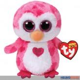 """Glubschi's/Beanie Boo - Pinguin m. Herz """"Juliet"""" lim. -15 cm"""