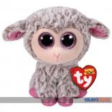 """Glubschi's/Beanie Boo's - Lamm """"Dixie"""" pink/grau - 15 cm"""