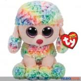 "Glubschi's/Beanie Boo's - Pudel ""Rainbow"" multicolor - 24 cm"