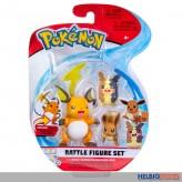 """Figuren-Sortiment """"Pokemon Battle Figure Set Wave 9"""" sort."""