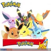 """Plüsch-Figuren-Sortiment """"Pokemon Eevolutions"""" 20 cm - sort."""