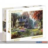 """Puzzle """"Fantasy - Victorian Garden"""" - 1000 Teile"""