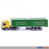 "Siku 3921 - LKW ""Mercedes Benz Actros"" mit Container"