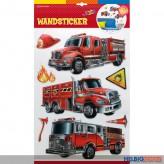 """3D Wandsticker """"Feuerwehr"""""""