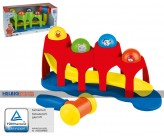 """Baby-Spielzeug 2-in-1 """"Kugelbahn-Hammerbank"""""""