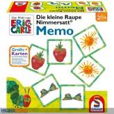 """Memo-Spiel """"Die kleine Raupe Nimmersatt"""" gr. Karten"""