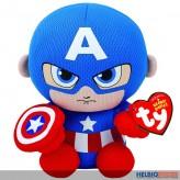 """Original Beanies - Marvel-Figur """"Captain America"""" - 15 cm"""