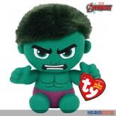 """Original Beanies - Marvel-Plüschfigur """"Hulk"""" - 15 cm"""