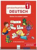 Lernabenteuer-Block Deutsch Kl.1: Sicher im ersten Lesen