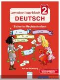 Lernabenteuer-Block Deutsch Kl.2: Sicher im Rechtschreiben