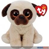 "Beanie Babies - Hund/Mops ""Rufus"" - 15 cm"