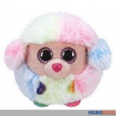 """Plüsch-Ball """"Ty Puffies - Hund Rainbow"""" - Ø 10 cm"""