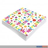 "Servietten ""Happy Birthday - 20er Pack"