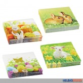 "Servietten ""Ostern"" 20er Pack - 6-sort."