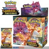 """Pokémon - Schwert & Schild S3 """"Flammende Finsternis"""" Booster"""