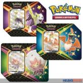 "Pokemon - Pokémon Tin Box ""Glänzendes Schicksal"" 3-sort. DE"