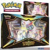 """Pokemon - Premium-Box """"Glänzendes Schicksal"""" 2-sort. (DE)"""