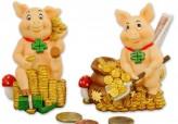 Spardose Glücksschweinchen