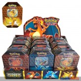 """Pokemon - Tin Box """"Hidden Fates"""" Glurak-Raichu-Garados (DE)"""