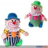 "Plüschfigur ""Clown"" 25 cm - 2-sort."