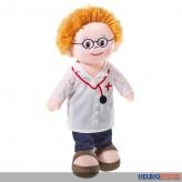 "Schlenker-Puppe ""Doktor-Poupetta"" 30 cm"