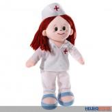 """Schlenker-Puppe """"Krankenschwester-Poupetta"""" 30 cm"""