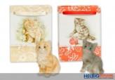 Deko-Katze in Präsenttüte
