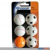 """Tischtennis-Ball """"Jade"""" 6er Set - Ø 40 mm"""