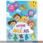 """Übungsbuch """"Rechne und male aus"""""""