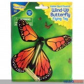 "Fliegender Schmetterling ""Wind-Up Butterfly"" - sort."