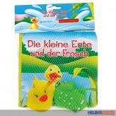 """Badewannenbuch/Badebuch """"Ente & Frosch"""" inkl. Tierfiguren"""