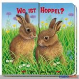 "Pappen-Bilderbuch ""Zieh & Sieh: Wo ist Hoppel?"""