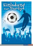 """Einladungskarten """"Party Fußball"""""""
