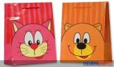 """Geschenktüte Kinder """"Comic-Bär/Katze"""" kl."""