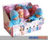 Baby-Puppe - m. Schlafaugen & Sound