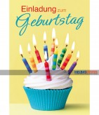 """Geburtstags-Einladungskarten """"Einladung zum Geburtstag"""""""