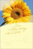 """Karte Geburtstag """"Sonnenblume"""""""