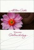 "Karte Geburtstag ""Blume"""