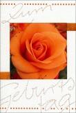 """Karte Geburtstag """"Rose"""""""
