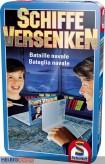 """Gesellschaftsspiel """"Schiffe versenken"""" - in Metallbox"""