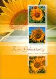 """Karte Geburtstag """"Sonnenblumen"""""""