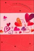 """Karte Geburtstag """"Herzen"""""""