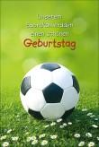 "Karte Geburtstag ""Fussball"""