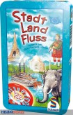 """Gesellschaftsspiel """"Stadt Land Fluss"""" - in Metallbox"""