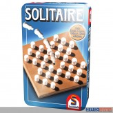 """Gesellschaftsspiel """"Solitaire"""" - in Metallbox"""